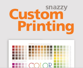 Custom Printing Available