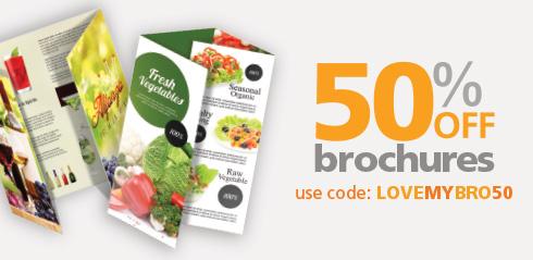 50% Off Brochures