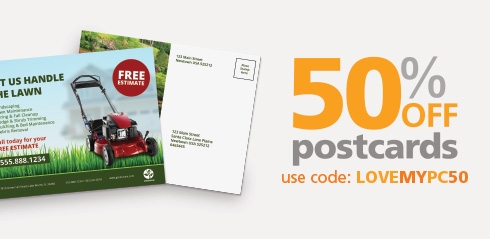 50% Off Postcards