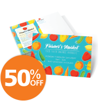 50% Off Standard Postcards